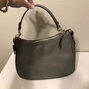 Kate Spade shoulder bag med/large - gray - NWT